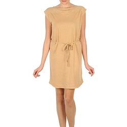 material Women Short Dresses Majestic CAMELIA Beige