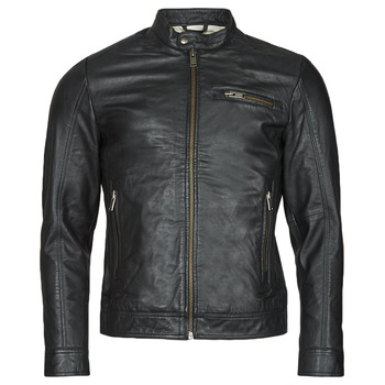 material Men Leather jackets / Imitation le Selected SLHICONIC Black