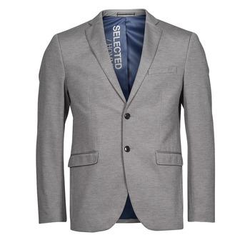 material Men Jackets / Blazers Selected SLHSLIM JIM Grey