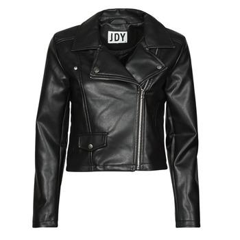 material Women Leather jackets / Imitation le JDY JDYETTA Black