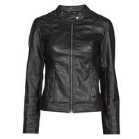 material Women Leather jackets / Imitation le JDY JDYEMILY Black
