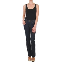 material Women straight jeans Lee MARION STRAIGHT Blue