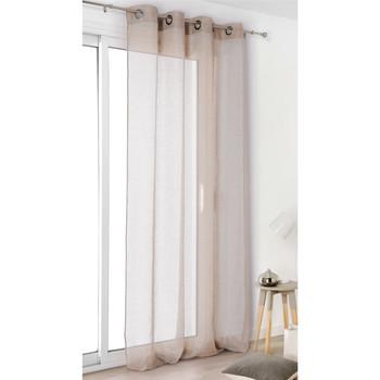 Home Sheer curtains Linder VOILE DE LIN Natural