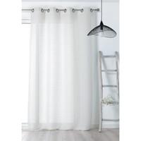 Home Sheer curtains Linder JUTE White