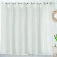 Home Sheer curtains Linder ETAMINE GIVREE White / Broken