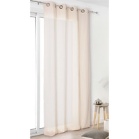 Home Curtains & blinds Linder TOILE ASP.LIN White / Broken