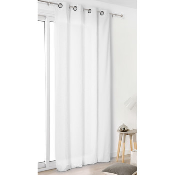 Home Curtains & blinds Linder TOILE ASP.LIN White