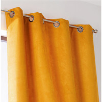 Home Curtains & blinds Linder SUEDINE LOURDE Yellow