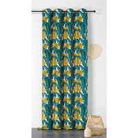 Home Curtains & blinds Linder BANANIER Green / Anis / Et  / Blue / Petrol