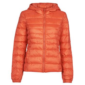 material Women Duffel coats Only ONLTAHOE Orange