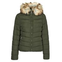 material Women Duffel coats Only ONLNEWELLAN Kaki