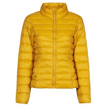 material Women Duffel coats Only ONLNEWTAHOE Yellow