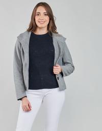 material Women Jackets / Blazers Only ONLVICTORIA Grey