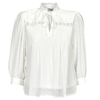 material Women Blouses Only ONLMADONNA White