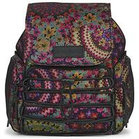 Bags Women Rucksacks Desigual BACK_MYWAY HELSINKI MEDIUM Multicolour