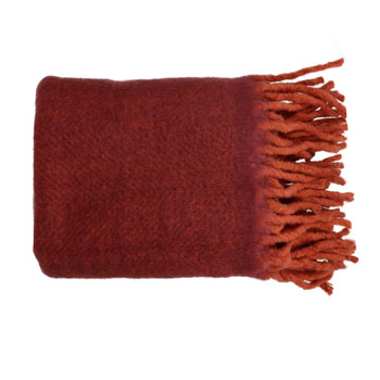 Home Blankets, throws Pomax COSY Bordeaux
