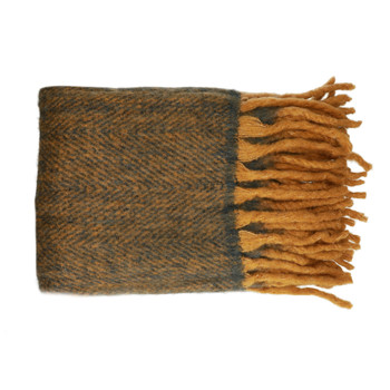 Home Blankets, throws Pomax COSY Brown