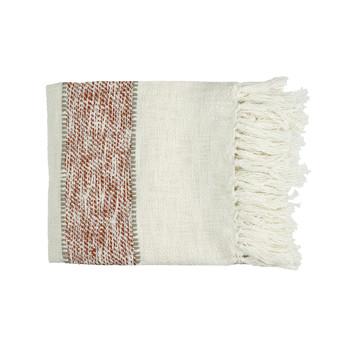 Home Blankets, throws Pomax RAYU White