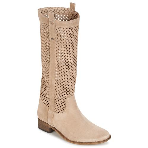 Shoes Women Boots Betty London DIVOUI Beige