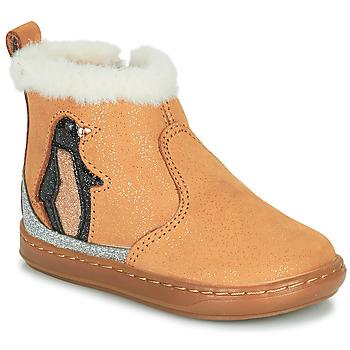 Shoes Girl Mid boots Shoo Pom BOUBA ICE Brown