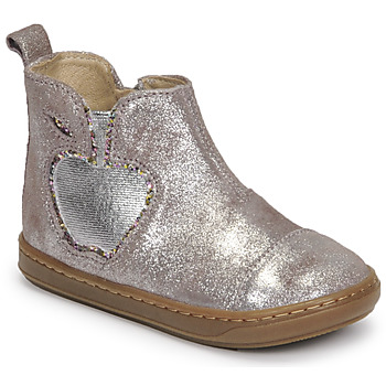 Shoes Girl Mid boots Shoo Pom BOUBA NEW APPLE Blue