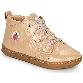 Shoes Girl High top trainers Shoo Pom BOUBA ZIP LACE Pink