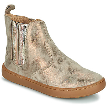 Shoes Girl Mid boots Shoo Pom PLAY NEW SHINE Grey