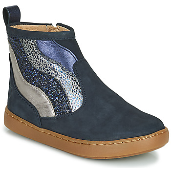 Shoes Girl Mid boots Shoo Pom PLAY WAVES Blue