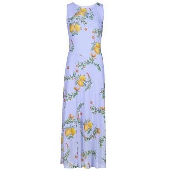 material Women Long Dresses Desigual MIAMI Multicolour