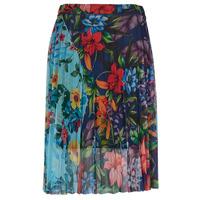 material Women Skirts Desigual BUNY Multicolour