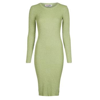 material Women Long Dresses Yurban PAUWEL Green