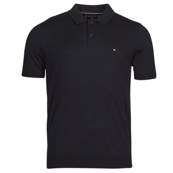 material Men short-sleeved polo shirts Tommy Hilfiger FINE SUMMER COTTON P, DW5 Blue