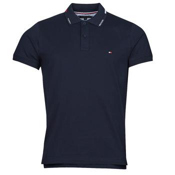 material Men short-sleeved polo shirts Tommy Hilfiger 1986 HILFIGER COLLAR, DW5 Black