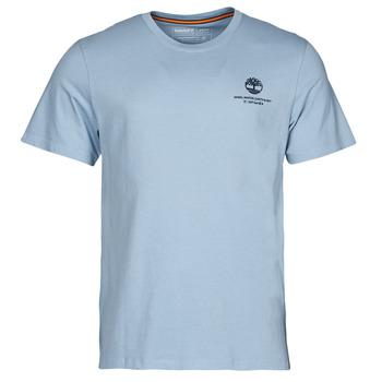 material Men short-sleeved t-shirts Timberland CC ST TEE Blue