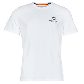 material Men short-sleeved t-shirts Timberland CC ST TEE White