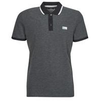 material Men short-sleeved polo shirts Jack & Jones JCOCHARMING Black