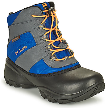 Shoes Children Hiking shoes Columbia YOUTH ROPE TOW BOY Blue / Orange
