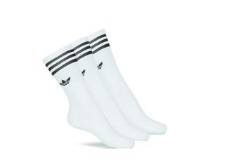 Underwear High socks adidas Originals SOLID CREW SOCK X3 White
