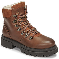 Shoes Women Mid boots Fericelli PISTACHE Cognac