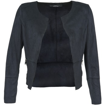 material Women Leather jackets / Imitation le Only KIM MARINE