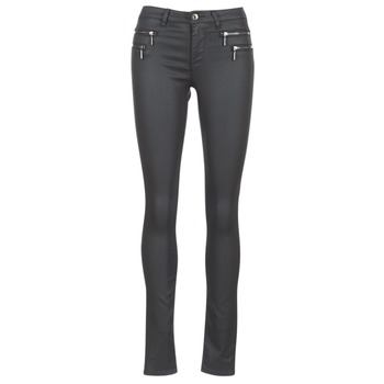 material Women 5-pocket trousers Only NEW OLIVIA COATED Black