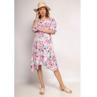 material Women Short Dresses Fashion brands 9471-ROSE Pink