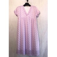 material Women Short Dresses Fashion brands BY80-LILAS Lilac