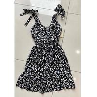 material Women Short Dresses Fashion brands 5165-NOIR Black