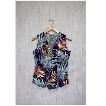 material Women Blouses Fashion brands 183-04-NAVY Marine
