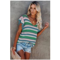 material Women Blouses Fashion brands DL2514986-GREEN Green