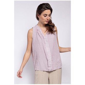 material Women Blouses Fashion brands TP25-PINK Pink