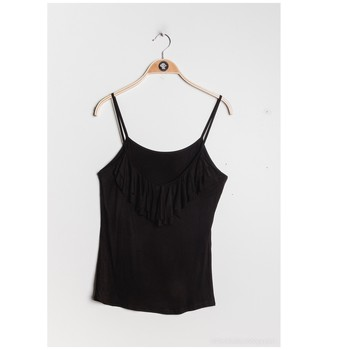 material Women Blouses Fashion brands D852-BLACK Black