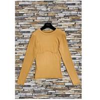 material Women Blouses Fashion brands HD-2813-N-BROWN Brown