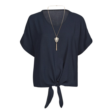 material Women Blouses Fashion brands BY32-NAVY Marine
